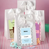 White Personalized Gift Box Favors