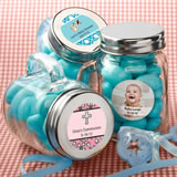 Baby Shower Personalized Expressions Collection Glass Mason Jars