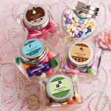 <em>Personalized Expressions  Collection</em> Heart Shaped Glass Jars