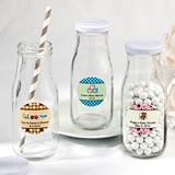 Baby Shower Design Your Own Collection vintage style milk bottles