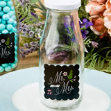 Sayings collection Mr & Mrs design Vintage milk bottle