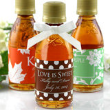 Personalized Maple Syrup - Silhouette Collection