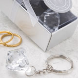 <em> Clear Diamond  Collection</em> Diamond  Design Key Chain