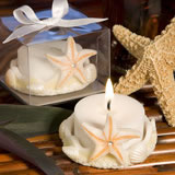 Starfish Design <i>Favor Saver</i> Candles