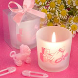 <em>Favor  Saver Collection</em> Baby Girl Themed Candle Favors