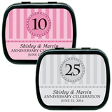 Mint Tins - Anniversary Circle & Stripes