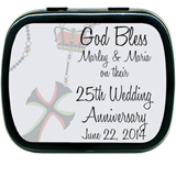 Mint Tins - Anniversary Bless Cross