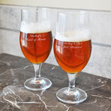 Custom Stemmed Pilsners (Set of 2)