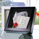 Love Collection Wedding Wishes Keepsake Shadow Box (3 Designs Available)