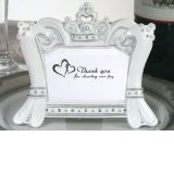 Queen for a day Sparkling Tiara photo frame favors.