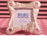 ABC baby block frame favor.