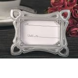 Stylish silver photo frame favor