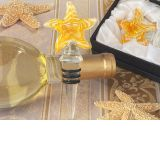Murano art deco collection starfish wine stopper.