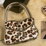 Stylish Handbag holder leopard design