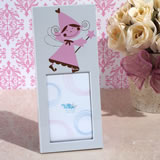 Pretty pink princess photo frame