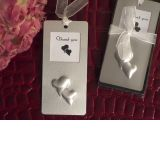 Mark it with memories bookmark collection double hearts design