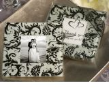 A Classic Damask design photo coaster.