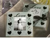 Celebration of Love Photo coaster.