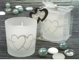 Two Heart are better than one candle holder