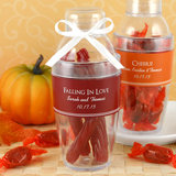 Personalized Cocktail Shaker Favor: Fall Designs