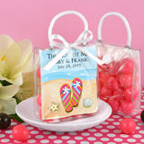Personalized Mini Gift Tote Favor: Beach Designs