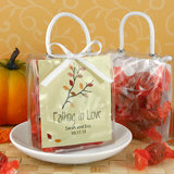 Personalized Mini Gift Tote Favor: Fall Designs