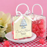 Personalized Mini Gift Tote Favor: Heart Designs
