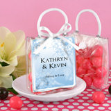 Personalized Mini Gift Tote Favor: Winter Designs