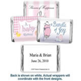 Baby Shower Hersheys Mini Chocolates - <b>Girls</b>