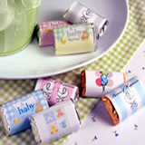 Baby Shower Hersheys Mini Chocolates - <b>General</b>