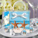 Hershey's Kisses Mini Gift Tote Favors: Beach Designs