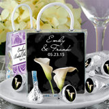 Hershey's Kisses Mini Gift Tote Favors: Flower Designs