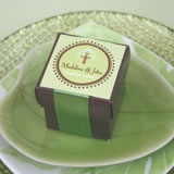 "Square Favor Labels (Sticky Back) - Assorted Themes (2"")"