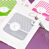 MOD Pattern Monogram Lemonade + Optional Heart Whisk
