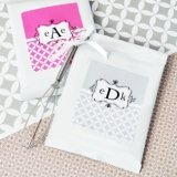 Mod Monogram Personalized Hot Cocoa + Optional Heart Whisk