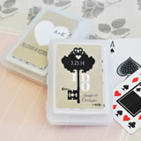 Vintage Wedding Personalized Playing Cards