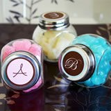 Monogram Candy Jars