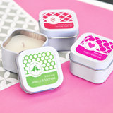 MOD Pattern Theme Square Candle Tins