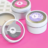 MOD Pattern Baby Round Candle Tins