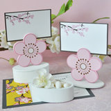 Cherry Blossom Place Card Favor Boxes with Designer Place Cards (Set of 12)