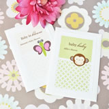 Baby Animals Personalized Seed Packets