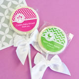 MOD Pattern Baby Lollipop Favors