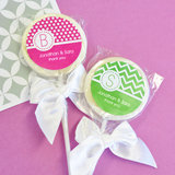 MOD Pattern Monogram Lollipop Favors
