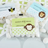 Baby Animal Personalized Jelly Bean Packs