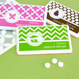 MOD Pattern Theme Mini Mint Favors