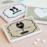 Vintage Wedding Personalized Mini Mint Favors