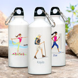 "Personalized ""Go-Girl"" Water Bottle (10 Designs Available)"