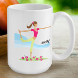 "Personalized ""Go-Girl"" Coffee Mug (10 Designs Available)"
