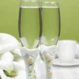 Seaside Jewels Collection Beach Themed Toasting Flutes (Set of Two)