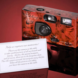 Wedding Cameras - Red Roses